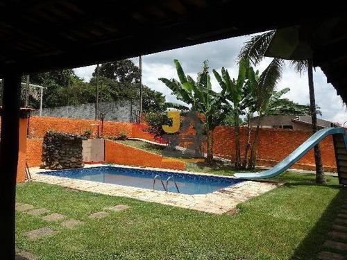 Chácara Com 3 Dormitórios À Venda, 1300 M² Por R$ 2.000.000,00 - Parque Jatibaia (sousas) - Campinas/sp - Ch0644