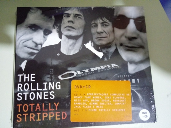 Cd Rolling Stones - Totally Stripped (digipak Duplo)