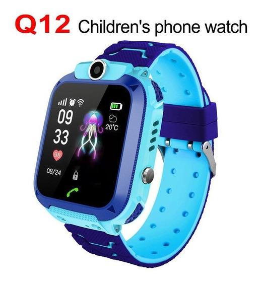 Relógio Inteligente Do Telefone Do Relógio Q12b Smartwatch