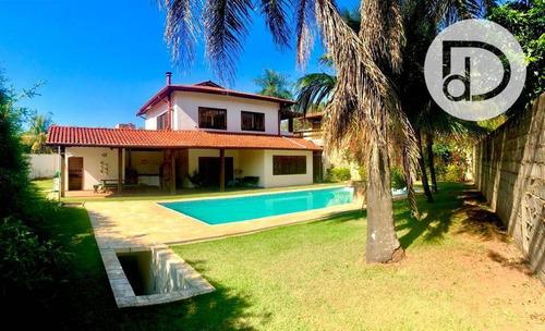 Casa Com 3 Dormitórios À Venda, 319 M² Por R$ 1.600.000,00 - Condomínio Vista Alegre - Sede - Vinhedo/sp - Ca3155