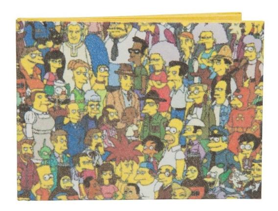 Carteira De Papel Tyvek - Ágora   Simpsons