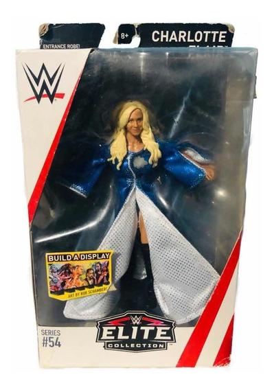 Figura Wwe Divas Mattel Elite 54 Charlotte Flair The Queen