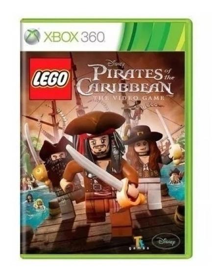Lego Piratas Dos Caribes Xbox 360 (usado)