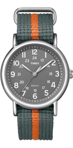 Timex Hombre Weekender T2n649 Reloj Correa Nylon 38mm