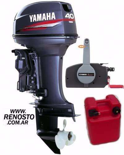 Motores Yamaha 40hp 2 Tiempos Con Power Trim Renosto