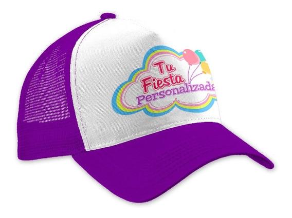 50 Gorras Personalizada Sublimada Infantil