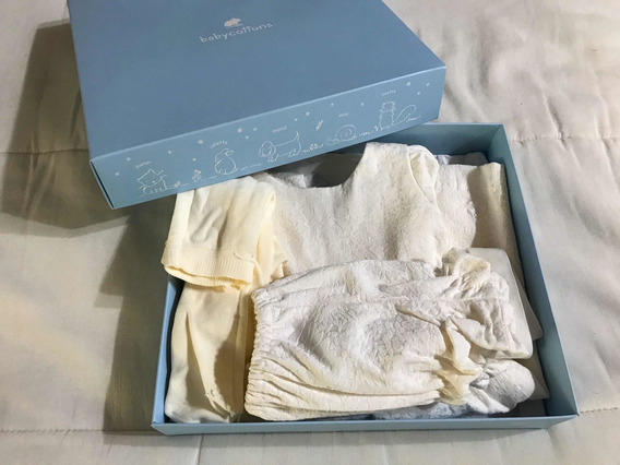 Vestido Bautismo Beba Baby Cottons