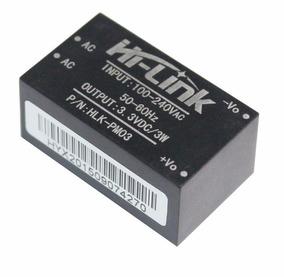Mini Fonte Hi-link Hlk-pm03 100~240vac 3.3 Vdc 3w Automação