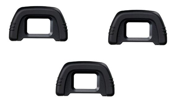 Kit3 Eye Cup Dk-21 P/ Nikon D600/610, D750, D7000/7100/7200