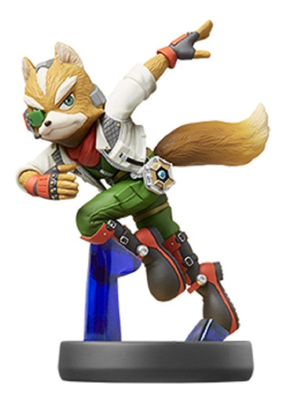 Amiibo Fox - Smash Bros - Pronta Entrega