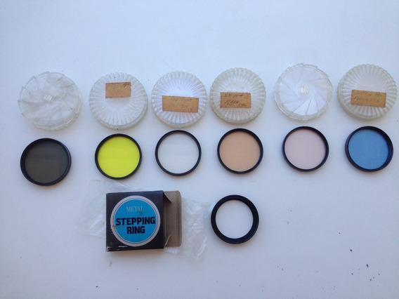 Filtros Polarizadores Lentes Câmeras Fotográficas 55mm+anel.