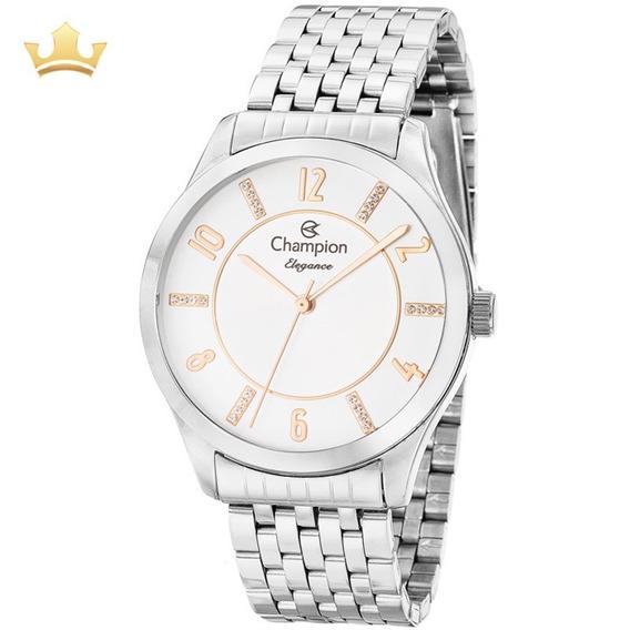 Relógio Champion Feminino Cn27698n Com Nf