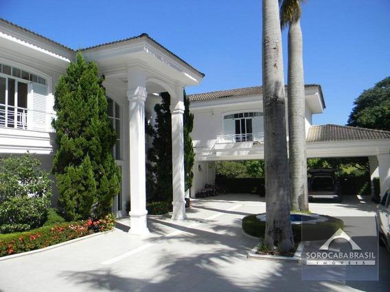 Sobrado Com 5 Dormitórios À Venda, 2000 M² Por R$ 15.160.000,00 - Condomínio City Castelo - Itu/sp - So0122
