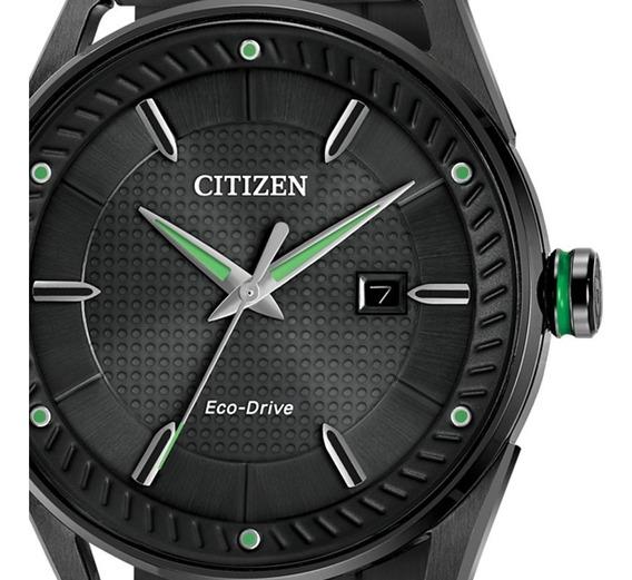 Reloj Para Hombre Citizen Bm6985-55e Ecodrive Acero Pavonado Diseño Casual