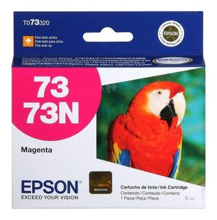 Cartuchos Epson 73n Negro Cyan Magenta Amarillo Original