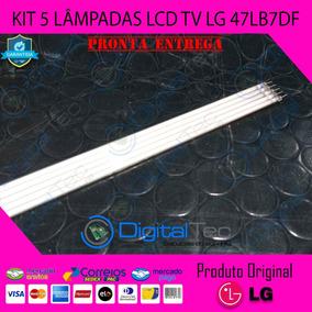 Kit 5 Lâmpadas Lcd Tv Lg 47lb7df Originais Testadas