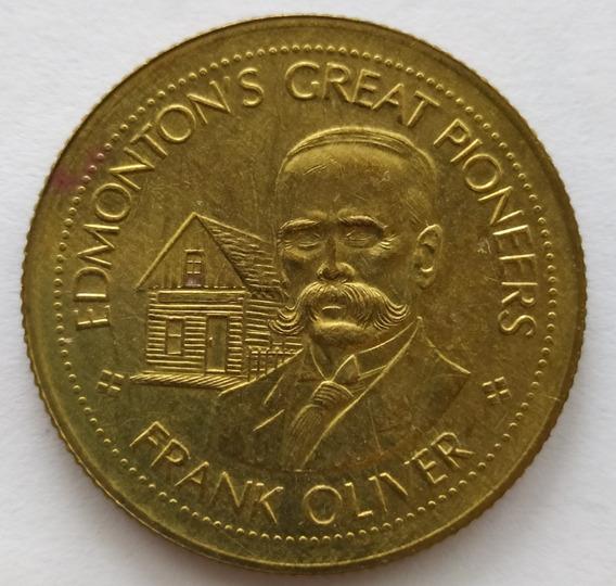 Medalla Al Gran Pionero Frank Oliver De Canada