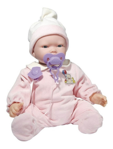 Boneca Bebê Carinhas Expressão Realista Com Acessórios