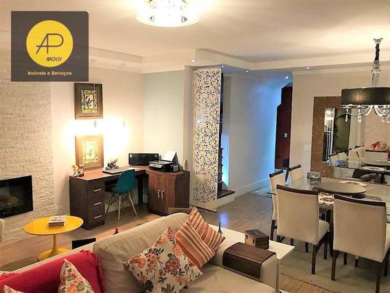 Sobrado Com 3 Dormitórios À Venda, 140 M² Por R$ 719.000 - Vila Mogilar - Mogi Das Cruzes/sp - So0122