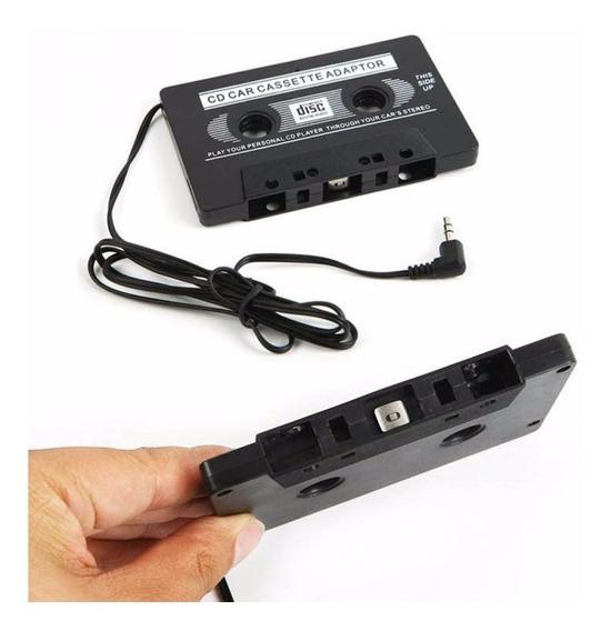 Adaptador Fita Cassete K7 Mp3 Celular Toca Fitas Carro Som