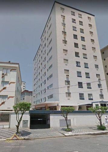 Imagem 1 de 25 de Apartamento À Venda Por R$ 188.000 - Vila Guilhermina - Praia Grande/sp - Ap2781
