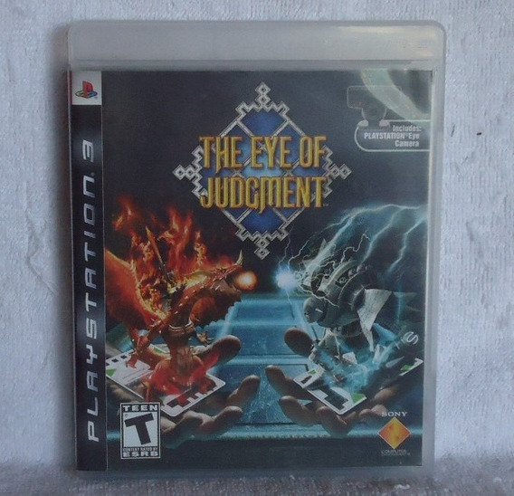 The Eye Of Judgment Ps3 ** Frete Gratis Leia
