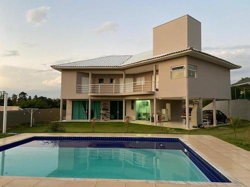 Alto Padrão  4 Dormitórios ( 3 Suítes) À Venda, 434 M² Por R$ 1.750.000 - Condomínio Village Castelo - Itu/sp - Ca1222
