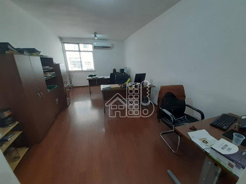Sala À Venda, 35 M² Por R$ 200.000,00 - Centro - Niterói/rj - Sa0191