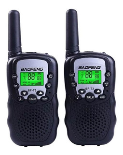 Kit 2 Radio 22can Walk Talk Color Baofeng Bf-t3 Novidade