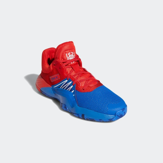 Tenis adidas D.o.n. Issue 1 Marvel Spiderman Originales