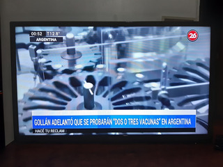 Tv Led Samsung 32 Pulgadas Detalle Lineas De Pixel