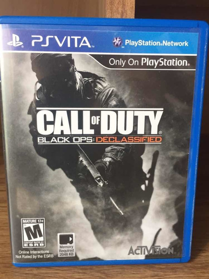 Call Of Duty Back Ops Vita - Psvita