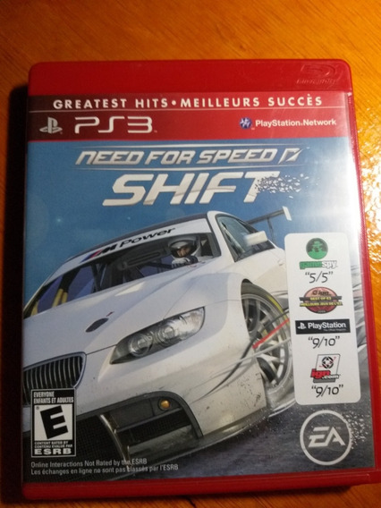 Need For Speed Shift Ps3 Midia Fisica