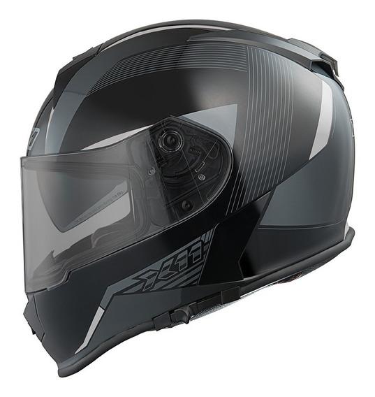 Capacete Moto Motoqueiro Motociclista Motoboy Fecha X11 Revo