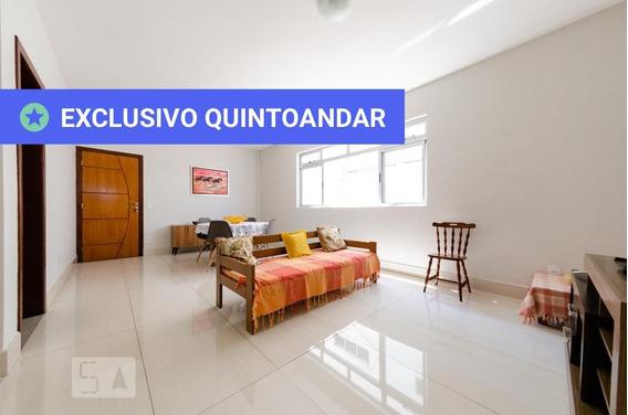 Apartamento No 1º Andar Mobiliado Com 4 Dormitórios E 2 Garagens - Id: 892958159 - 258159