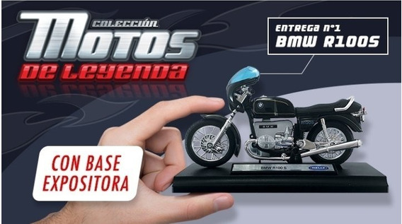 Motos De Leyenda - N° 1 - Bmw 100 S