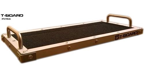Pedalboard T-board 37x15cm (pedales Guitarra Bajo Marshall)