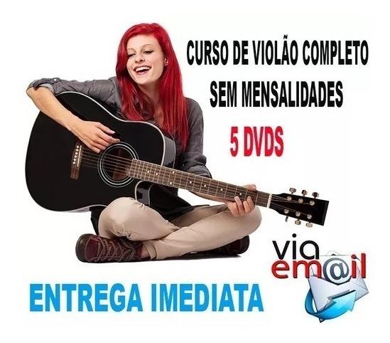 Curso De Violão Iniciante + Brinde 100% De Satisfação!!!!