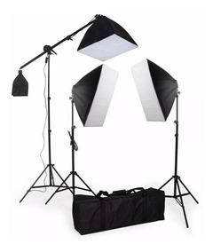 Kit De Iluminação Pk-sb03 -220v Com Lampadas Envio Imediato
