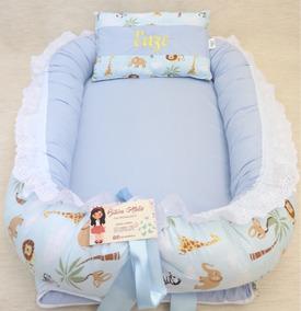 Ninho Do Bebê Safari Azul