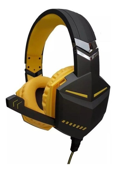 Fone Headset Feir Gamer Pc Note Ps3 Xbox Fr-510 Usb Amarelo