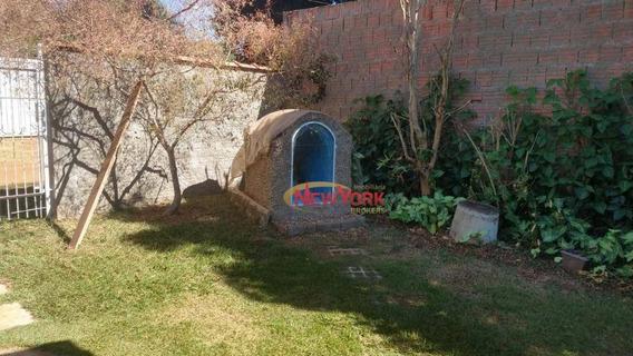 Chácara Com 2 Dormitórios À Venda, 500 M² Por R$ 190.000 - Loteamento Tutoya Do Vale - São Carlos/sp - Ch0089