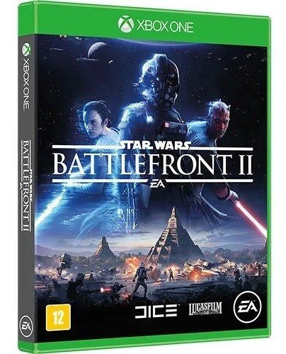 Star Wars Battlefront 2 Ii Xbox One - Midia Fisica Portugues