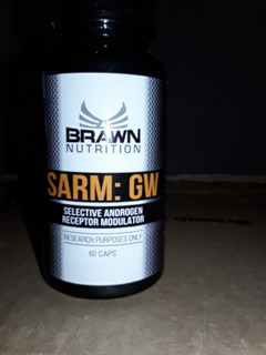 Cardarine Brawn Nutrition 10 Mg 60 Caps