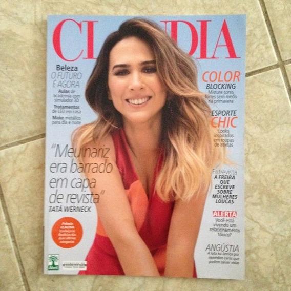 Revista Claudia Setembro 2016 Tatá Werneck Color Blocking