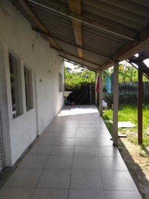 Casa No Balneário Gaivota, Em Itanhaém, Ref. C0626 L C