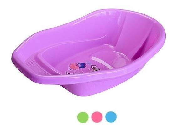 Banheira Para Bebe Banho Infantil Rigida Colors