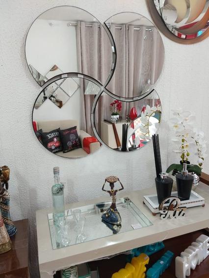 Espelho Decoração 1.00mt Por 1.00mt