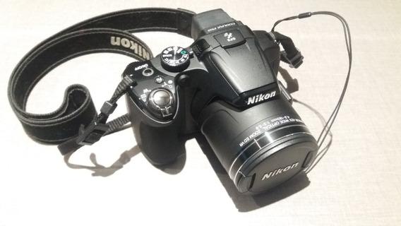 Nikon P510 Na Caixa Com Case Transporte