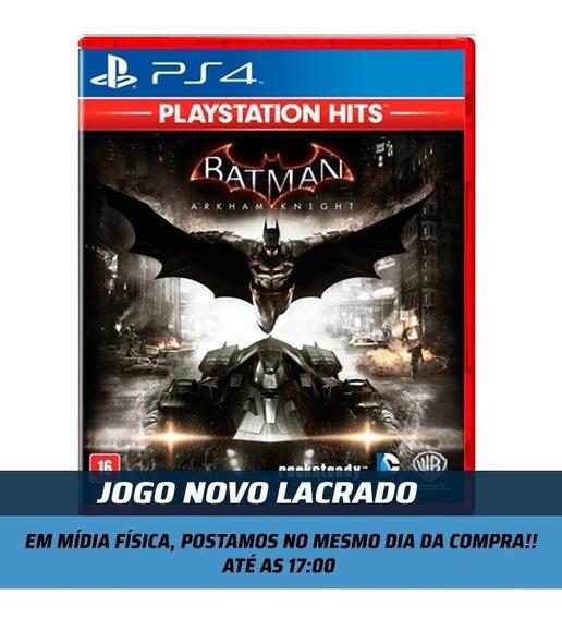 Jogo Batman Arkham Knight Ps4 Em Português Midia Fisica